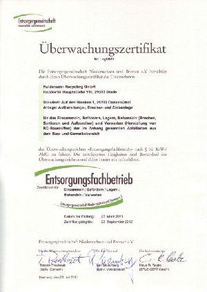Zertificat de surveillance