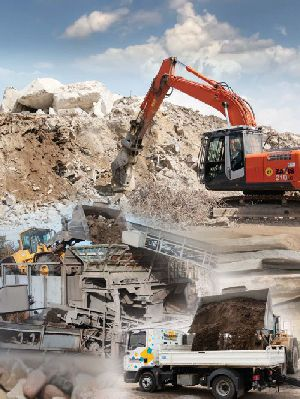 Crushing – processing – shipping – designing and constructing – fitting – service and sale