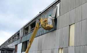 Rückbau von Asbestzementplatten nach TRGS 519.